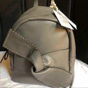 New! Jessica Simpson Kandiss Slate Backpack Purse